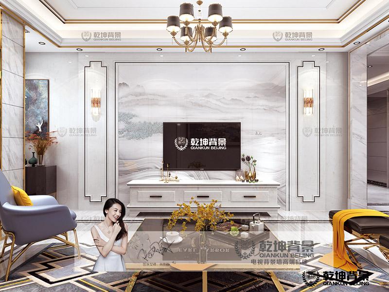 乾坤背景墙-大板—水墨丹青